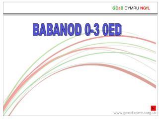 BABANOD 0-3 0ED