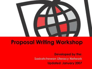 Proposal Writing Workshop