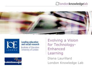 Evolving a Vision for Technology-Enhanced Learning