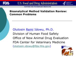 Bioanalytical Method Validation Review: Common Problems