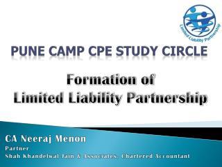 Pune Camp CPE Study Circle