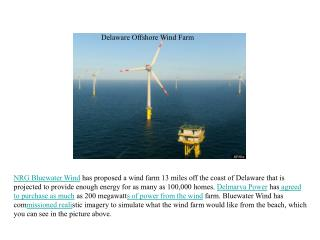 Delaware Offshore Wind Farm