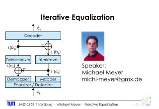 Iterative Equalization