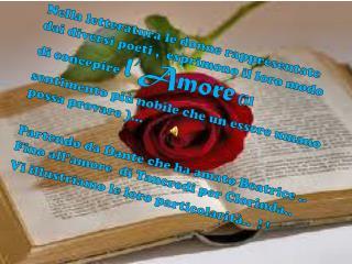 Le Donne più famose della Letteratura … dal 1300 - 1500....