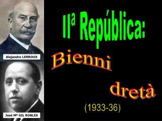 IIª República: