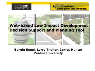 Web-based Low Impact Development Decision Support and Planning Tool