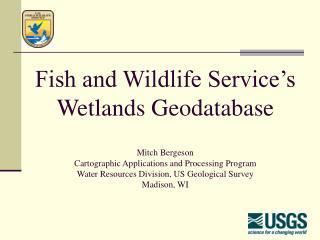 Wetlands Geodatabase