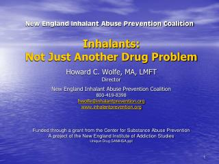 New England Inhalant Abuse Prevention Coalition