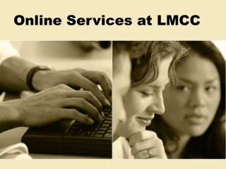 Online Services at LMCC