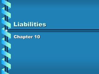 Liabilities