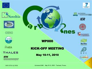 WP000 KICK-OFF MEETING May 10-11, 2010