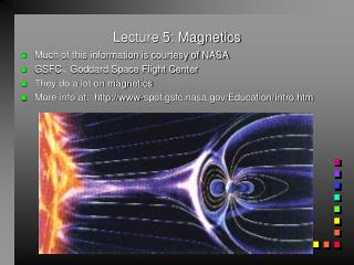 Lecture 5: Magnetics