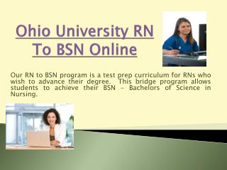 Cheapest rn to bsn online