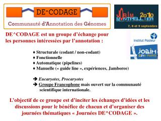 DE^CODAGE est un groupe d'échange pour les personnes intéressées par l'annotation :