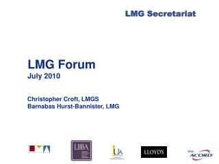 LMG Forum July 2010