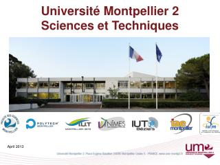 Universit� Montpellier 2 Sciences et Techniques