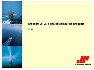 Crosslist JP vs. selected competing products