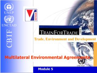Trade, Environment and Development