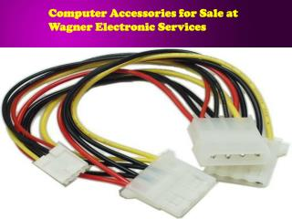 Computer Accessories for Sale at Wagner Electronic Services