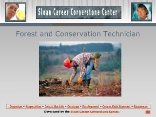 Forest and Conservation Technician