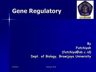 Gene Regulatory