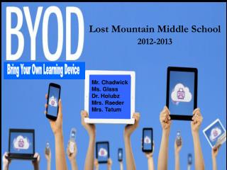 Lost Mountain Middle School 2012-2013