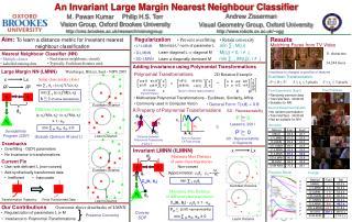 An Invariant Large Margin Nearest Neighbour Classifier
