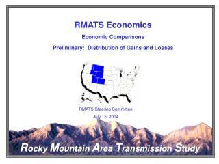RMATS Economics Economic Comparisons Preliminary:  Distribution of Gains and Losses