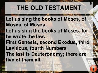 THE OLD TESTAMENT