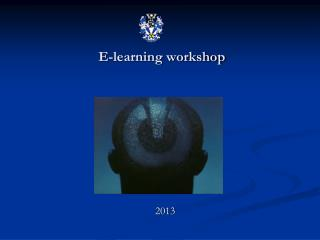 E-learning workshop