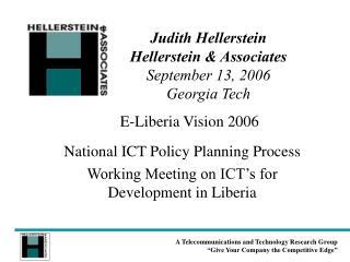 E-Liberia Vision 2006