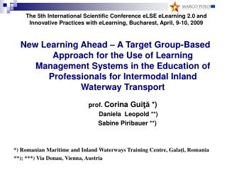 A Target Group-Based Approach  for the Use of Learning Management Systems