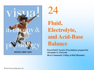 24 Fluid, Electrolyte, and Acid-Base Balance