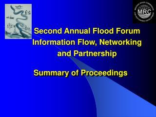 Summary of Proceedings