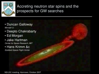 Accreting neutron star spins and the prospects for GW searches