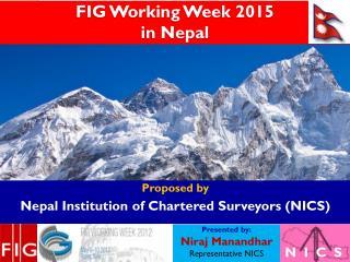 FIG Working Week 2015  in Nepal