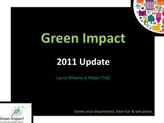 Green Impact 2011 Update