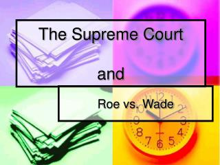 The Supreme Court  and