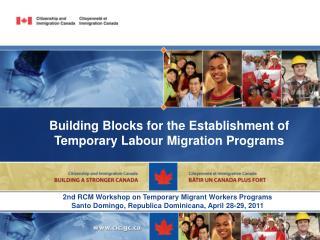 Building Blocks for the Establishment of Temporary Labour Migration Programs