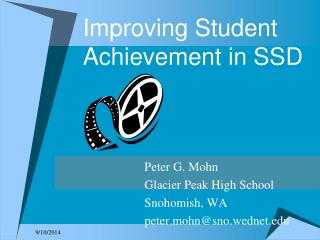 Improving Student Achievement in SSD