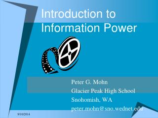 Introduction to Information Power