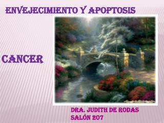 Envejecimiento y apoptosis