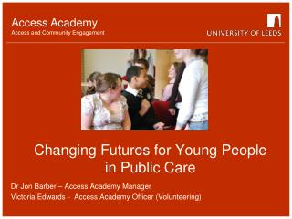 Changing Futures for Young People in Public Care