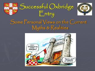Successful Oxbridge  Entry
