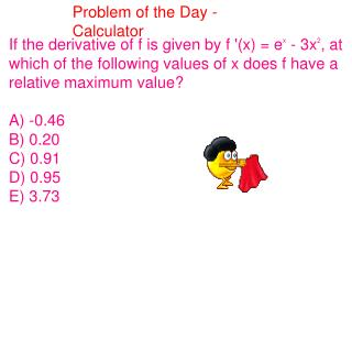 Problem of the Day - Calculator