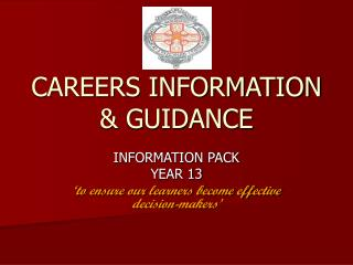 CAREERS INFORMATION & GUIDANCE