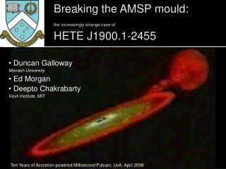 Breaking the AMSP mould: the increasingly strange case of HETE J1900.1-2455