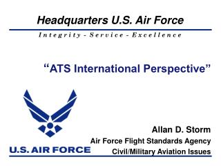 """ ATS International Perspective"""