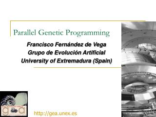 Parallel Genetic Programming