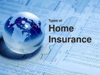 Types of Home Insurance in Calgary